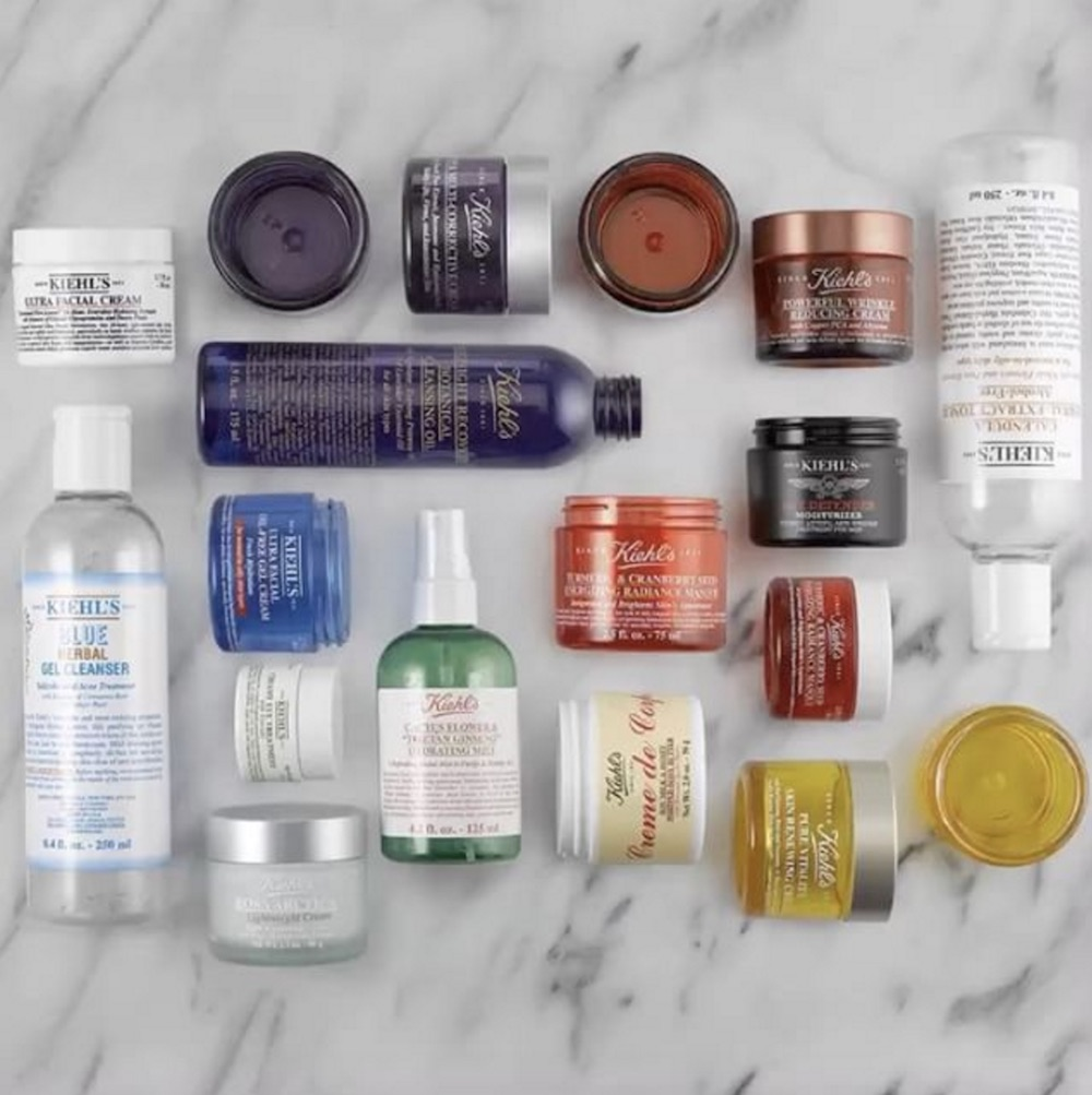 Your skin care #empties are basically gold with the Kiehl's recycling program
