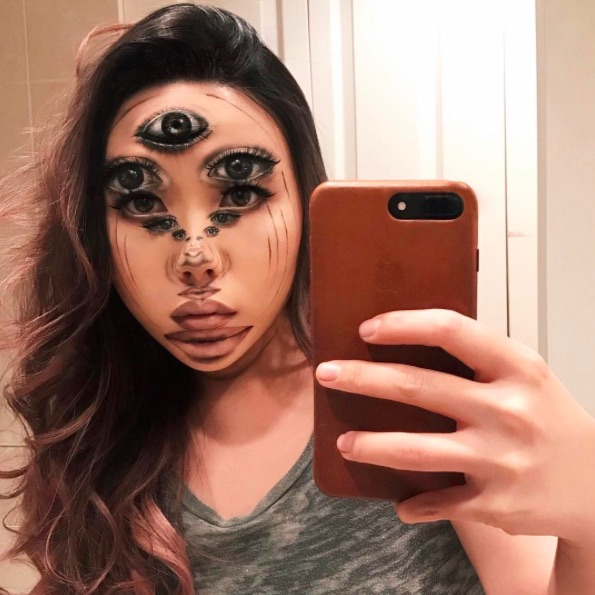 We're having trouble processing this makeup artists' intense optical illusions