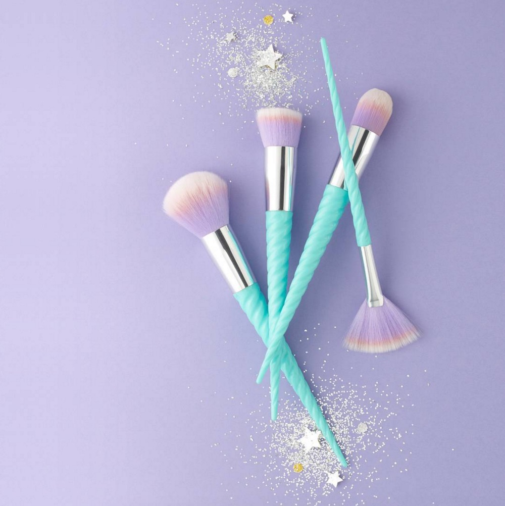 You can buy an entire set of unicorn brushes for the same price as a medium pizza