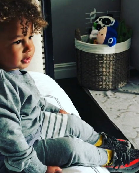 Alicia Keys' two-year-old son can already beatbox better than all of us