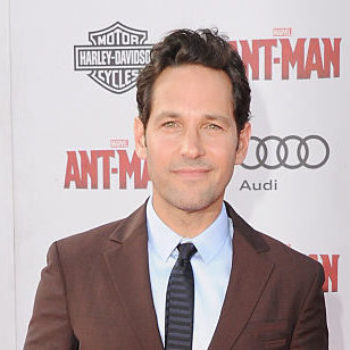 Watch IRL superhero Paul Rudd lend a helping hand to some kids in need