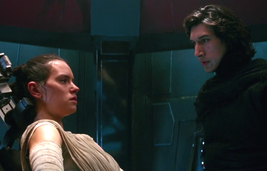 "Watch Kylo Ren awkwardly flirt with Rey in the ""Star Wars: Force Awakens"" bad lip reading"