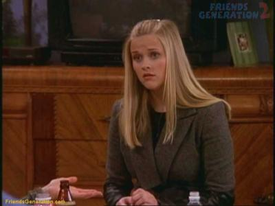 "Reese Witherspoon's ""Friends"" character may have predicted ""Legally Blonde"""