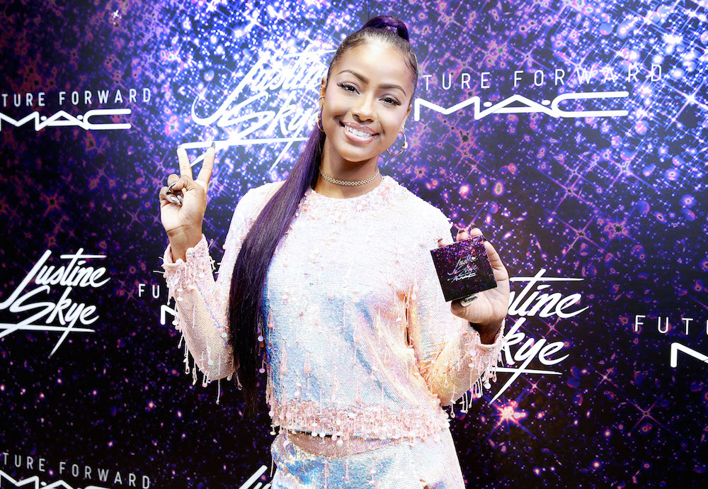Friendly reminder: You can pre-order Justine Skye's magical MAC collab NOW