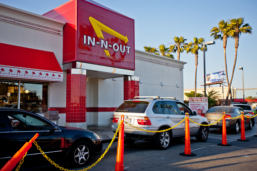 This amazing couple had their wedding reception at In-N-Out, and we are inspired