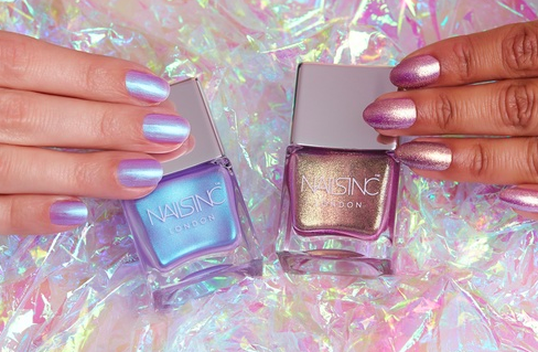 If the Childlike Empress wore nail polish, she'd def be into Nails Inc.'s new Unicorn collection