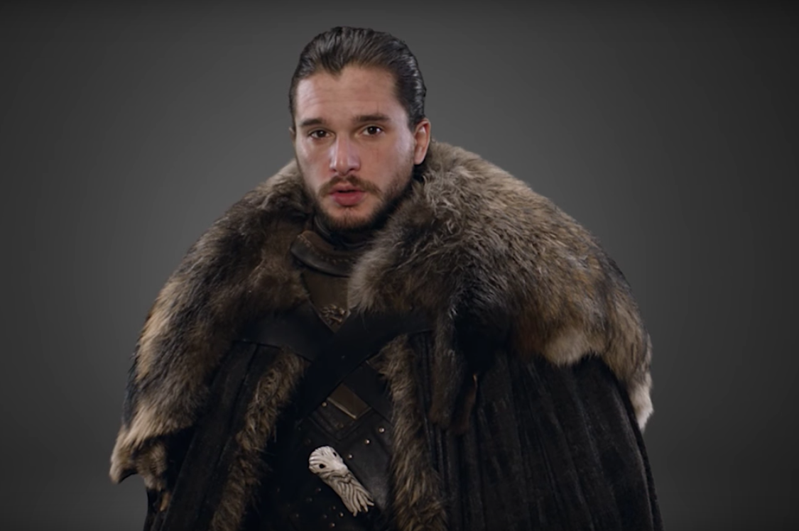 "The latest ""Game of Thrones"" promo has the cast making funny noises for a good reason"