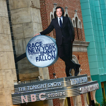 Jimmy Fallon's new ride is officially open at Universal Studios, and he couldn't be more excited