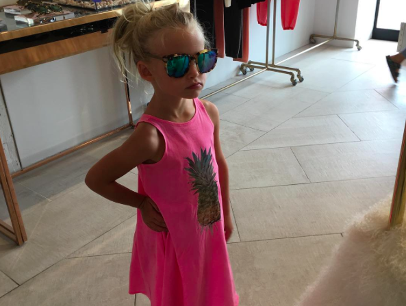 How to copy Jessica Simpson's daughter's glam spring look on the cheap