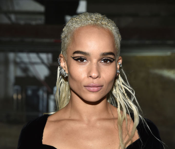 Zoë Kravitz chopped off her braids and is now sporting the perfect spring pixie cut