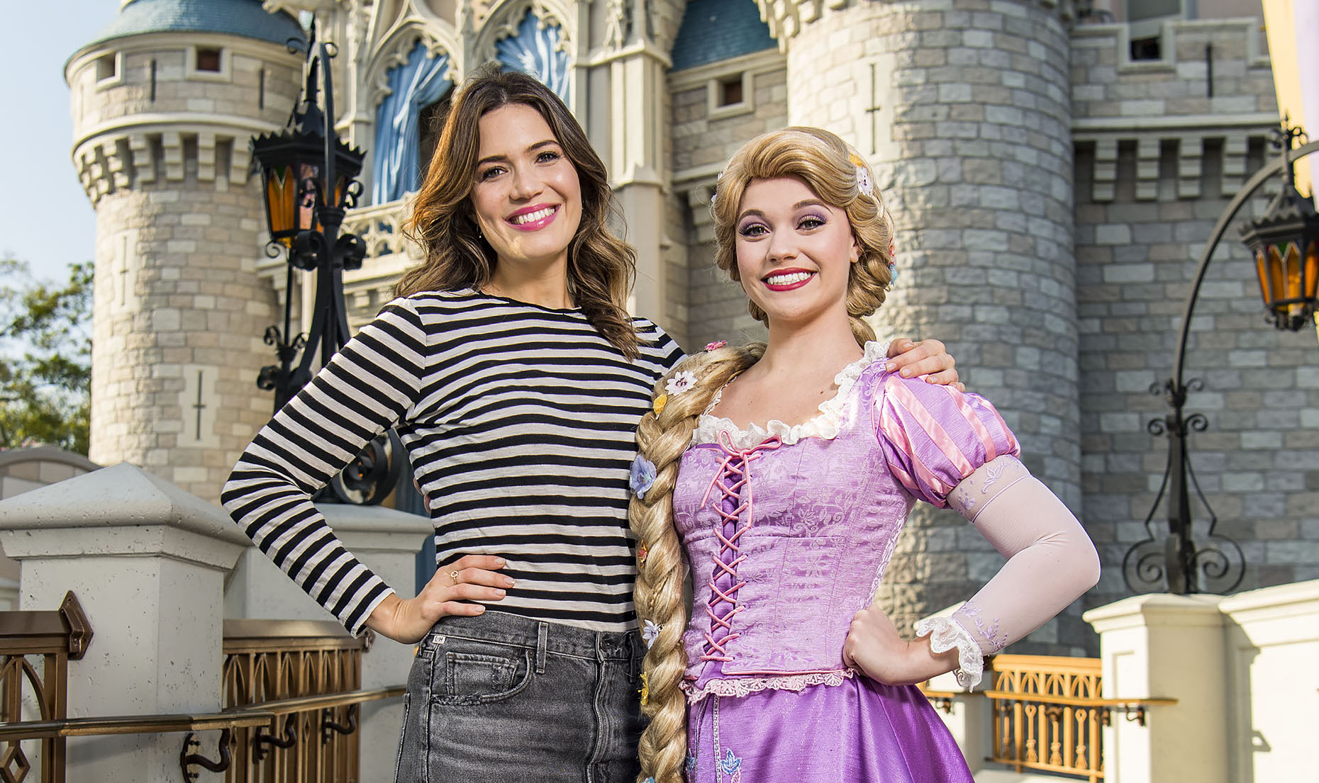 Just like the princess she is, Mandy Moore had the best birthday ever at Disneyland