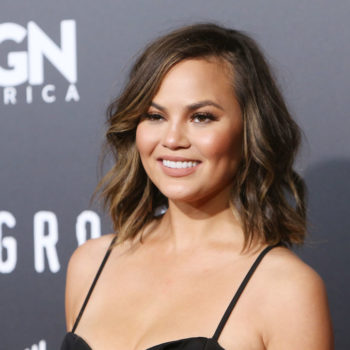 Chrissy Teigen just paid for this Twitter fan's school, and our hearts grew three sizes