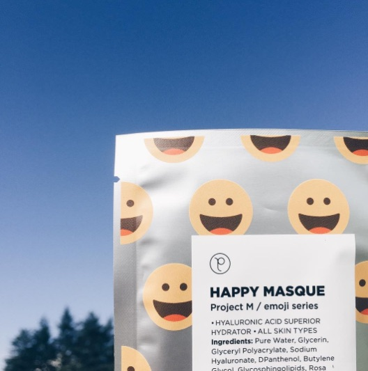 We've got heart eyes for these emoji face masks