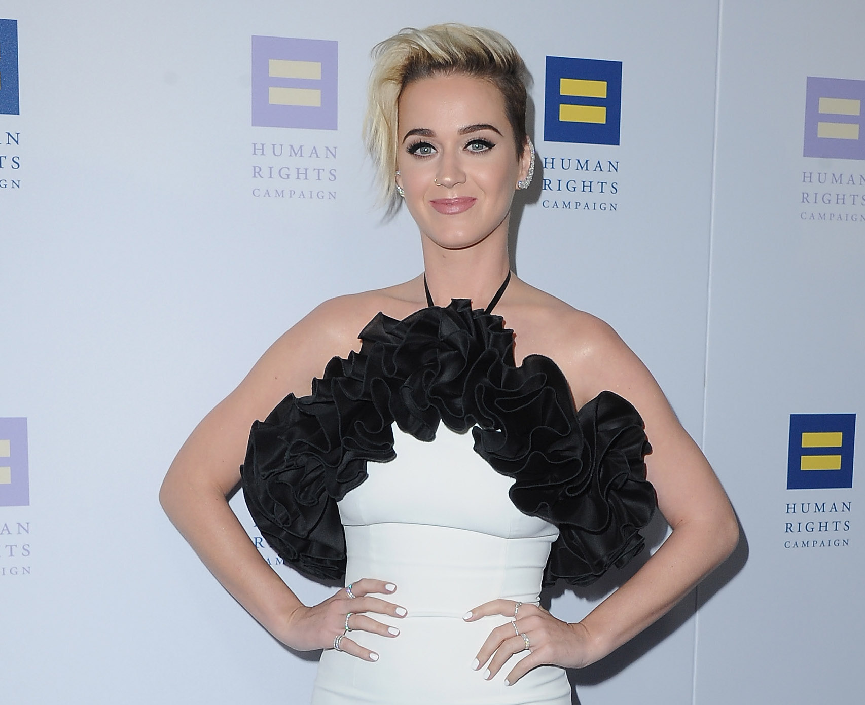 Katy Perry wore a sports bra to an event and we fully support this look