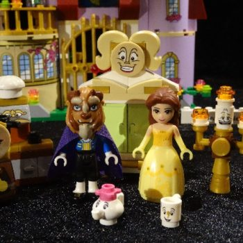 "This Lego ""Beauty and the Beast"" retelling is cuter than a chipped cup"