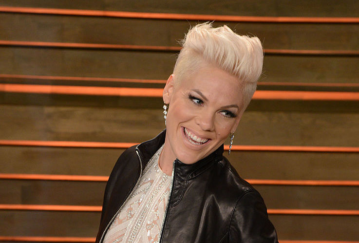 "Pink's ""spring break"" photos will give parents everywhere a good chuckle"