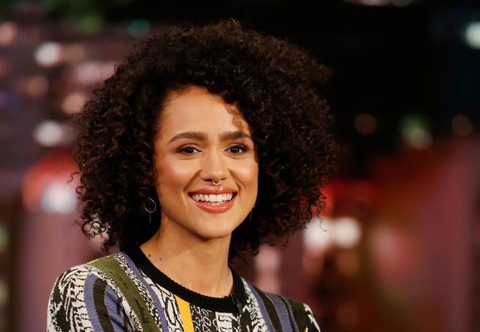 """Game of Thrones"" star Nathalie Emmanuel looks like a silver screen siren on the red carpet"