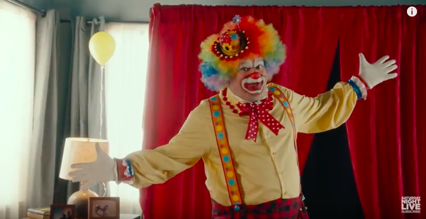 SNL found something even creepier than a birthday clown