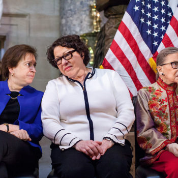 This study shows serious sexism in the Supreme Court, and here's how RBG and Co are dealing with it