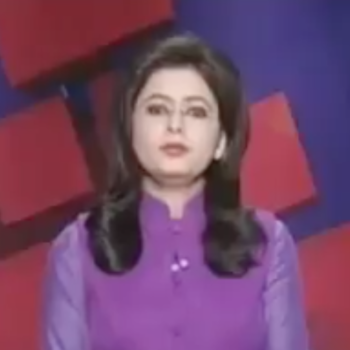 This TV anchor unknowingly read the news of her husband's death on air