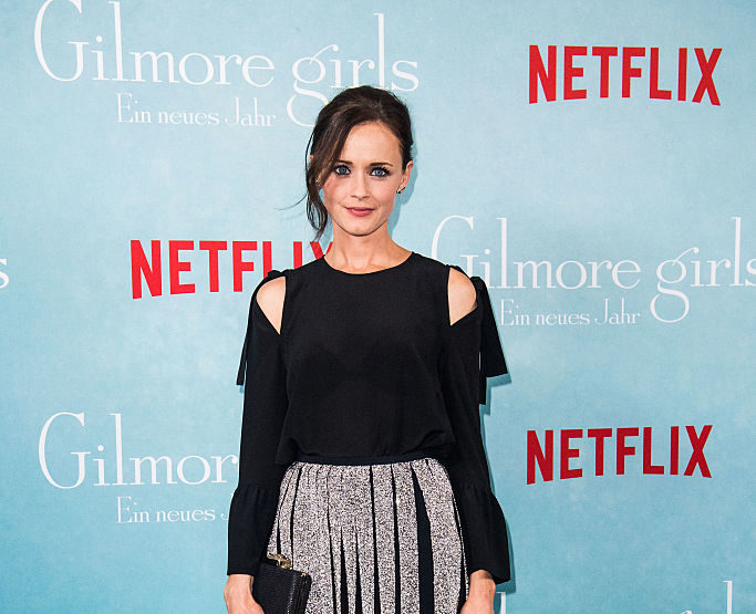 "The last four words of ""Gilmore Girls"" were hard for Alexis Bledel, and girl, same"