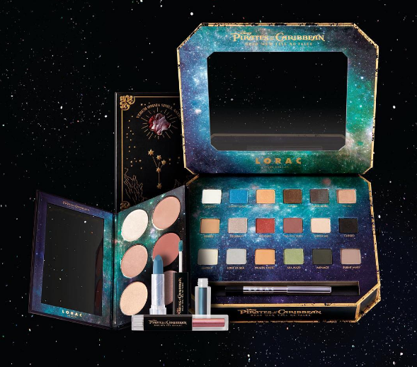 Reminder, matey: Lorac Cosmetics' Pirates of the Caribbean collection launches tomorrow