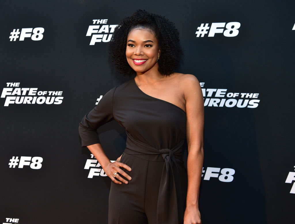Gabrielle Union's sexy black $79 jumpsuit is every bargainista's dream come true