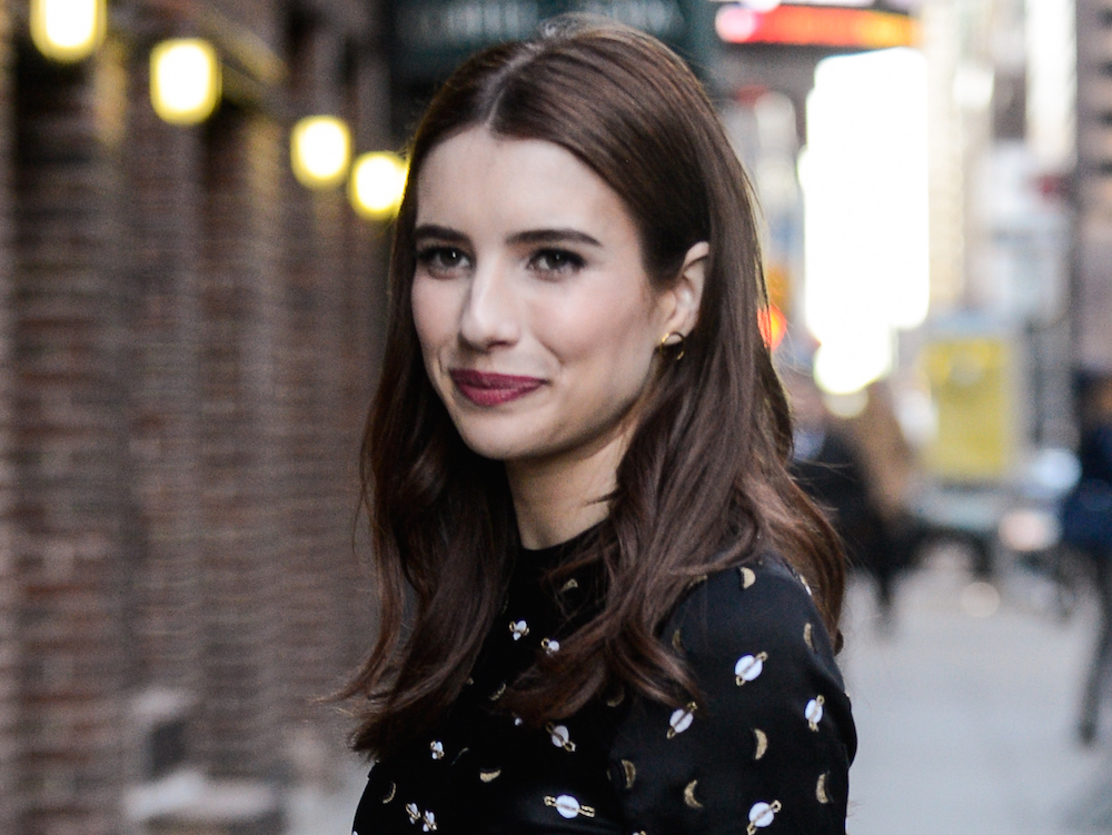 Emma Roberts's potential next hairstyle change is major, and inspired by Michelle Williams