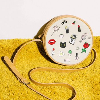 Valfre's new embroidered bag is the ultimate quirky-cute accessory