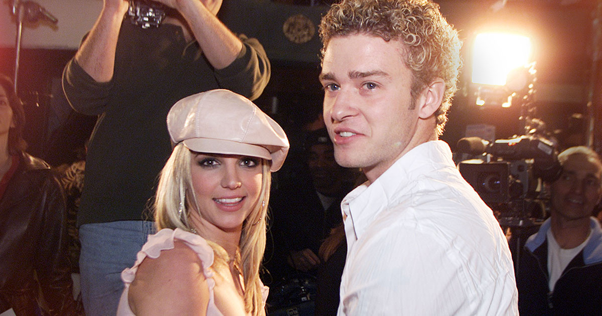 Could this be a hint that Britney Spears and Justin Timberlake have recorded a song together?