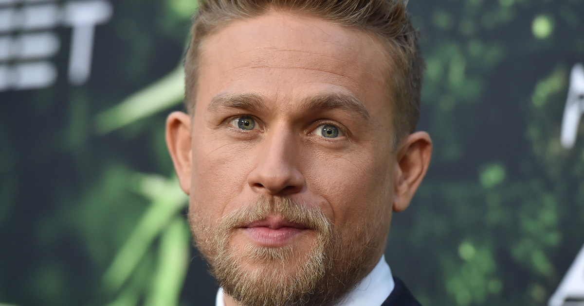 Charlie Hunnam got married in Vegas at 18, and aww to be young and madly in love