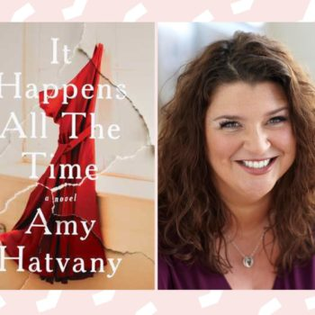 "We chatted with author Amy Hatvany about the familiar sexual assault narrative in her novel ""It Happens All the Time"""
