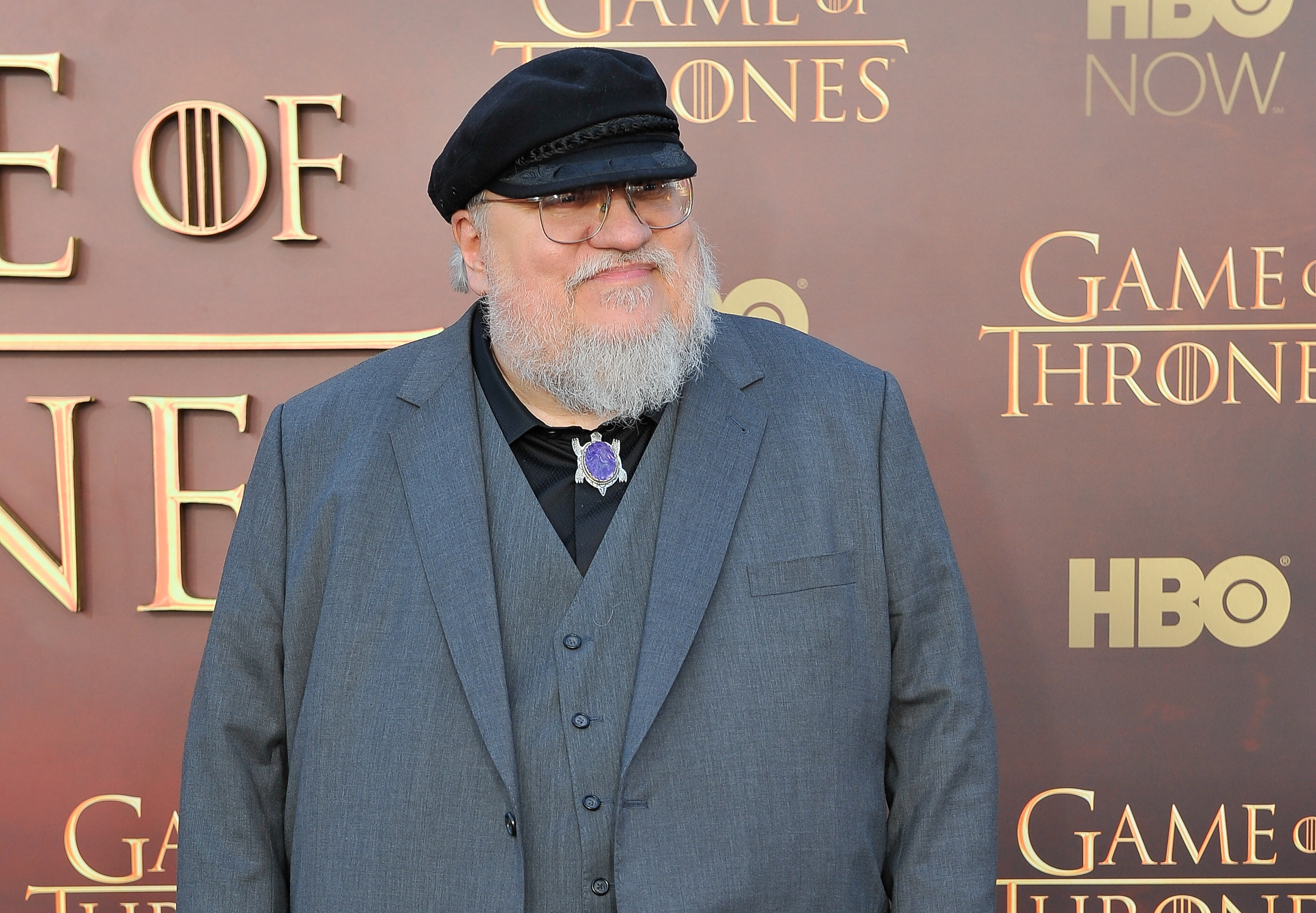 We can all go home, George R. R. Martin just won the internet today