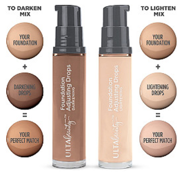 Thanks to Ulta Beauty's new Foundation Adjusting Drop kit, you can customize your makeup