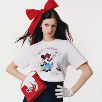 Disney and Uniqlo partnered with Olympia Le-Tan for the cutest Minnie Mouse-inspired collection