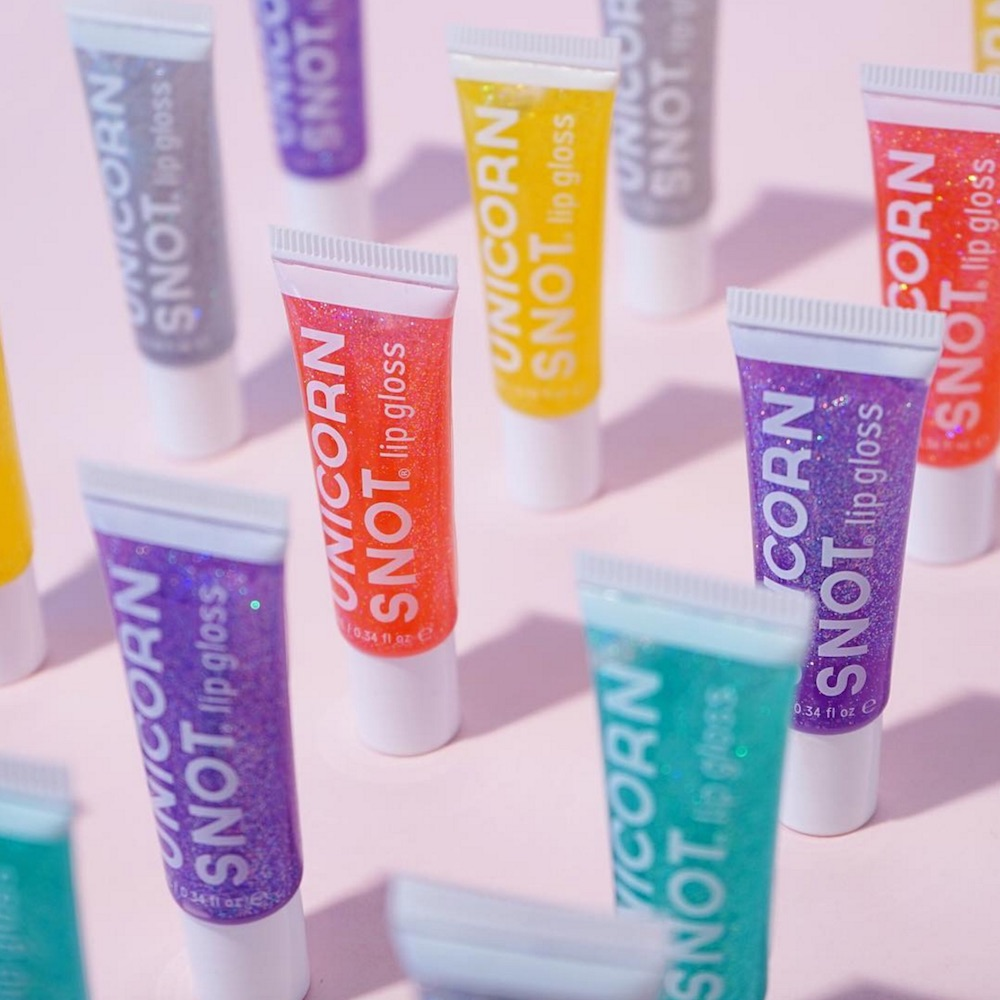 The next time someone asks you what kind of lip gloss you're wearing, tell them it's Unicorn Snot