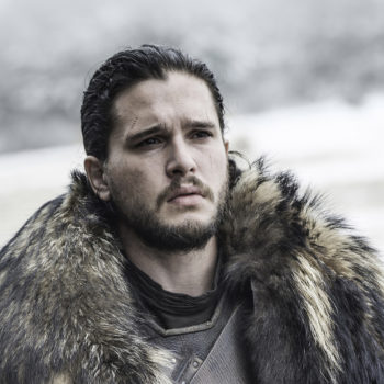 """Kit Harington doesn't care about this one """"Game of Thrones"""" fan theory, and whoa, arrows fired"""