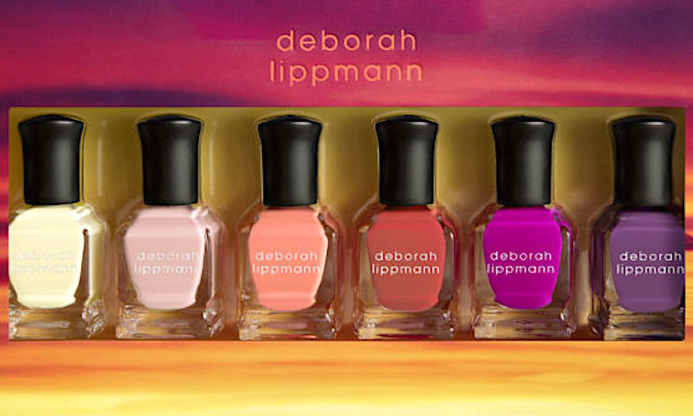 Deborah Lippmann is coming out with TWO sultry, sassy summer nail lacquer collections
