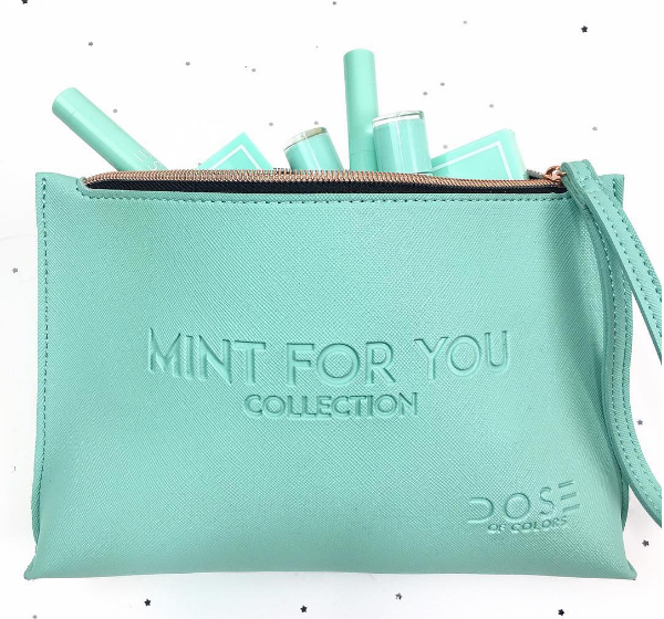 "Holly Golightly from ""Breakfast at Tiffany's"" would so approve Dose of Colors' new Mint For You collection"