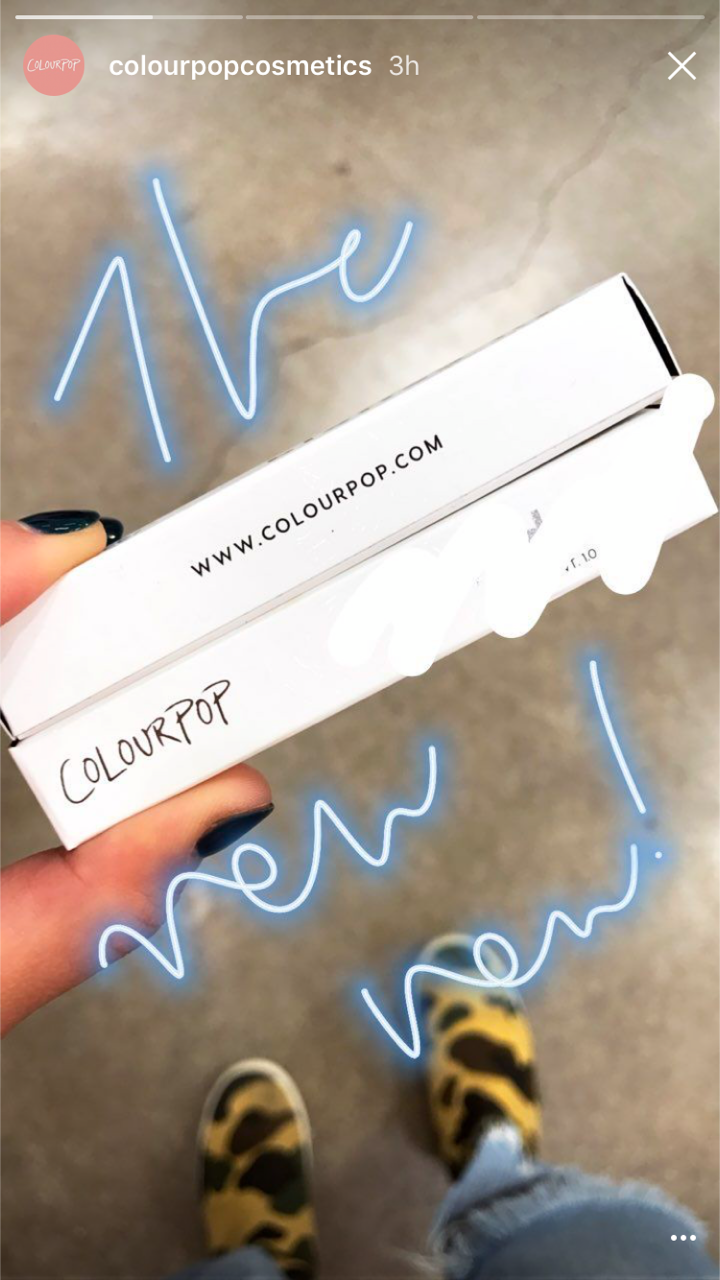 ColourPop shared more sneak peeks of their upcoming secret product that is launching tomorrow