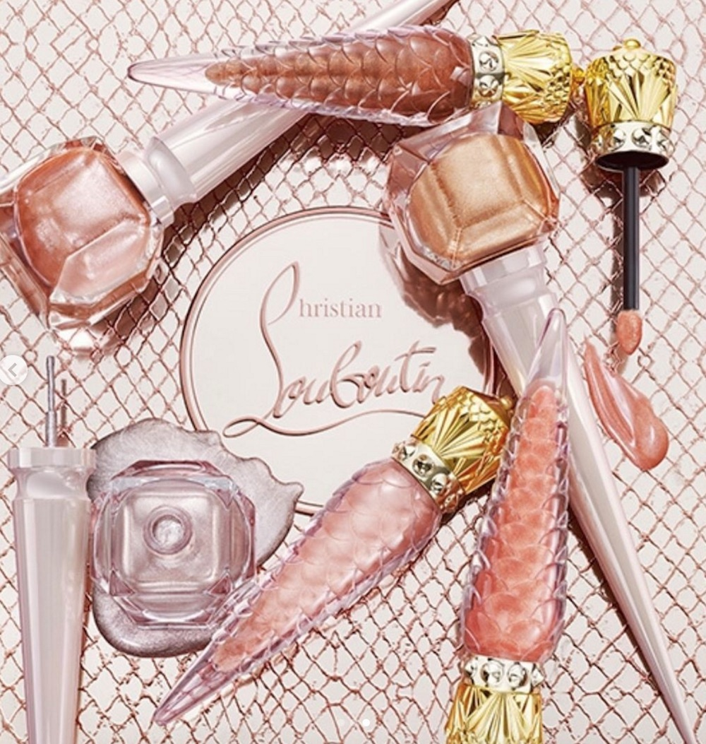 Louboutin's new beauty collection combines two of our favorite trends like we've never them before