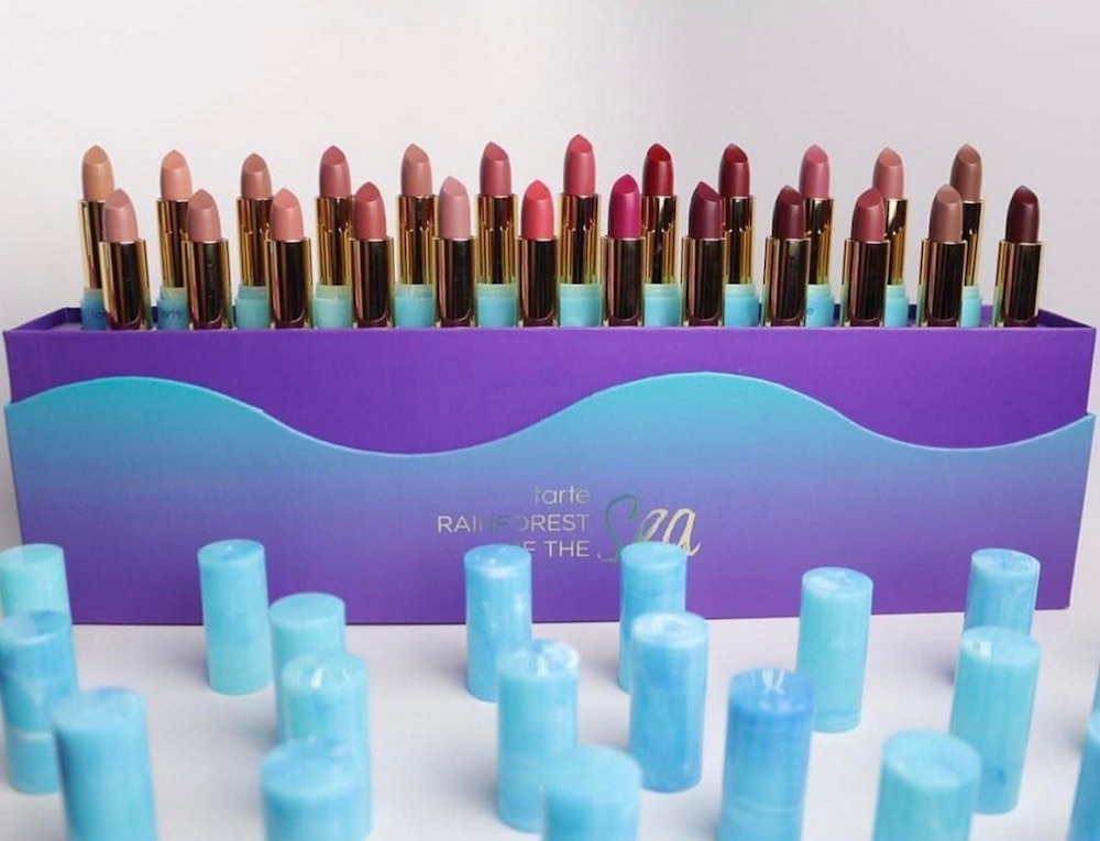 Tarte Cosmetics just dropped a massive limited edition vault for their Rainforest of the Sea collection