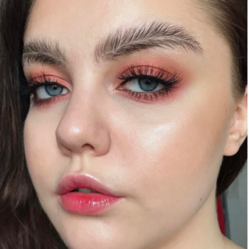 This insane feather brows beauty look started off as a joke, and it's quickly becoming an Instagram trend