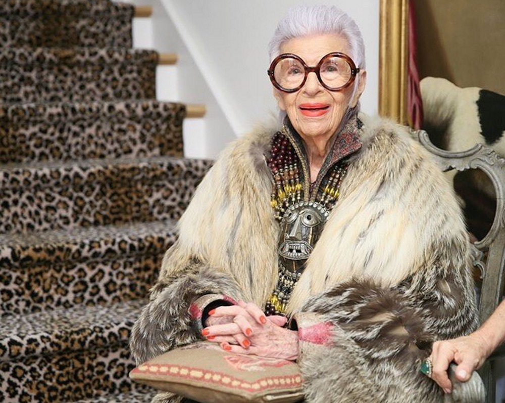 Iris Apfel's new spring collection for HSN is just as whimsical as the legendary designer herself