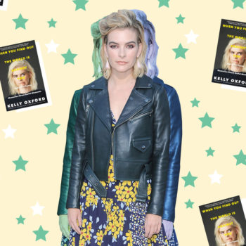 We spoke to author Kelly Oxford about panic attacks, quicksand, and Judy Blume