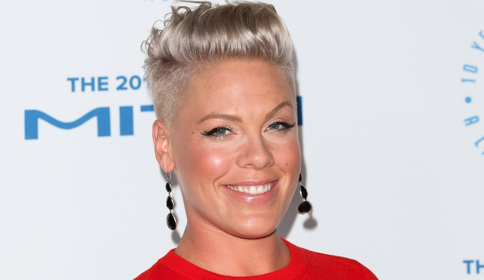 Pink shared a photo of herself breastfeeding during a hike for the most perfect of reasons