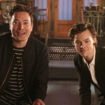 """The promos for """"SNL's"""" first-ever coast-to-coast show with Jimmy Fallon and Harry Styles are here"""