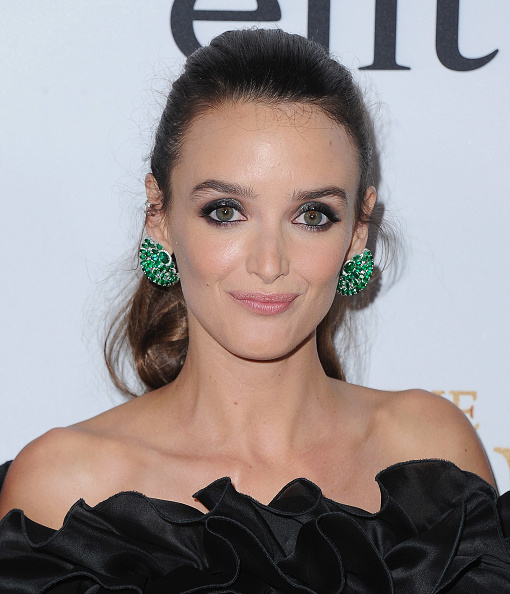 Charlotte Le Bon is making a case for '80s prom dress ruffles, and we ~totally~ see her point