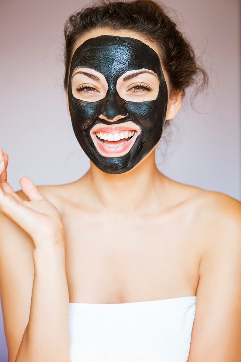 Maybe lay off those ~seemingly~ magical black charcoal masks that peel the pores right out of your face
