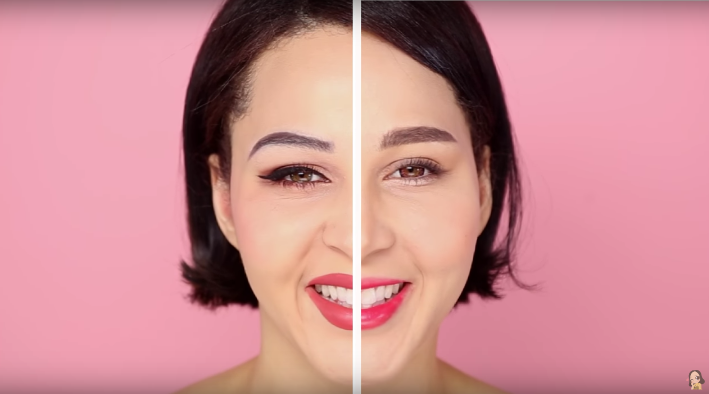 This YouTuber broke down the difference between Korean and Western makeup, and the results are 2 times the gorgeousness